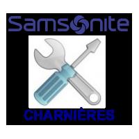 CHARNIÈRES SAMSONITE